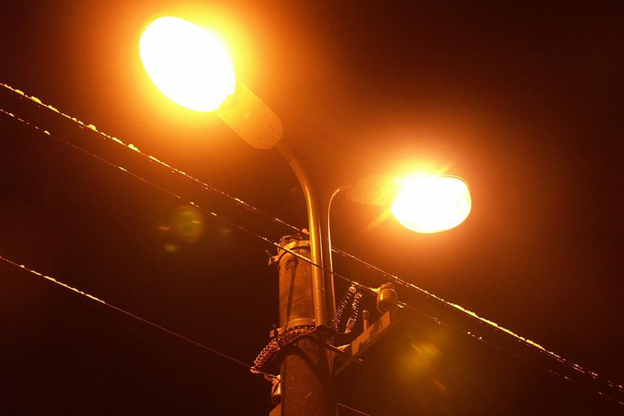 фото уличные фонари