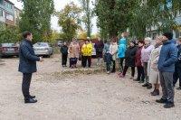 Встреча с жителями *** Саратовская область, город Маркс - октябрь 2021 год (marksadm.ru)
